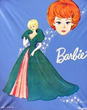Ponytail Barbie Case Powder Blue Sophisticated Lady Vintage 1963