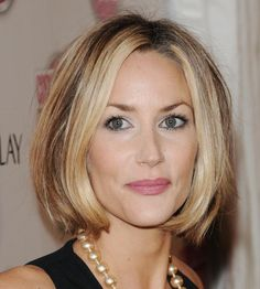 The Hottest Bob Haircuts of the Moment: British Ex-Supermodel Lisa Butcher