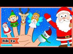 Christmas | Christmas Finger Family | Christmas Songs | Finger Family Christmas | HooplaKidz TV