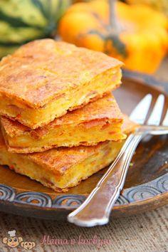 Slaný dýňový koláč (od 1 roku) | Máma v kuchyni Home Recipes, Bread Recipes, Snack Recipes, Dessert Recipes, Cooking Recipes, Desserts, Pumpkin Squash, Just Eat It, Food Hacks