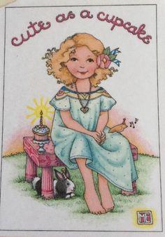 Cute as A Cupcake Mary Engelbreit Magnet | eBay