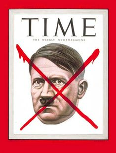 Adolf Hitler - May 7, 1945 - Time Magazine Cover