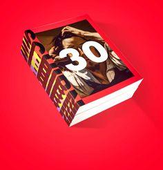 "Empfohlenes @Behance-Projekt: ""SCHIRN 30"" https://www.behance.net/gallery/40690503/SCHIRN-30"