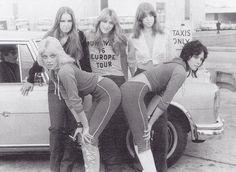 The Runaways EuropeTour 1976