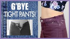 Make Your Pants Fit Better!- Sewing Tutorial