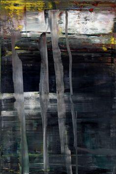 Gerhard Richter, Wald (Forêt), 2005. Huile sur toile, 197 cm x 132 cm. Catalogue Raisonné: 892-2. The Museum of Modern Art (MoMA), New York, États-Unis © 2017