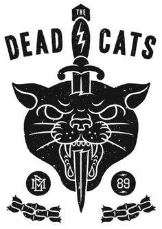 - The Dead Cats - by Marc Schönn, via Behance