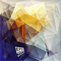 Plantillas Del Diseño Multicolor. Fondo Geométrico Triangular Abstracta Moderna Del Vector. Ilustraciones Vectoriales, Clip Art Vectorizado Libre De Derechos. Pic 34037907.