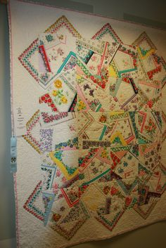 crazy quilting with hankies