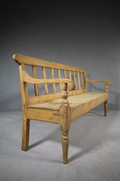 Benches & Stools Antiques Orderly Authentic 18th C Elm Bench French