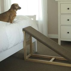 Folding Stairs For Dogs >> free plans for dog ramp from deck - Google Search | Dog Ramps | Pinterest | For dogs, Decks and ...