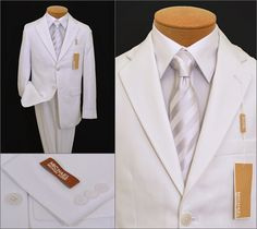 Love this suit for when my son makes his Communion!