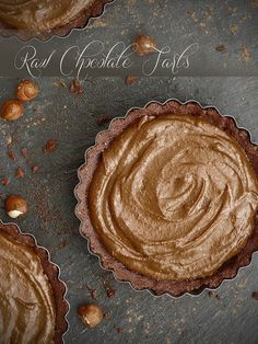Chocolate Tart with Hazelnut Crust - Pure and Simple :: Healthy Recipes and Real Food by Amy Jo