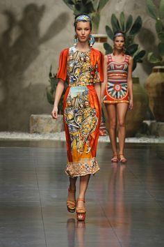 Dolce & Gabbana Mujer – Primavera/Verano 2013