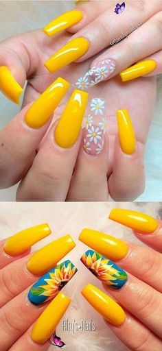winternails Beautiful yellow summer acrylic nails coffin #cutenails - hair & beauty #wintern... - Internesting Christmas Nails #christmas #winternails #nails<br> Coffin Nails, Acrylic Nails Coffin Short, Pink Acrylic Nails, Almond Acrylic Nails, Acrylic Art, Pointy Nails, Pastel Nails, Nail Art Designs, Acrylic Nail Designs