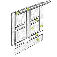Elements of flat panel molding.: Illustration: Harry Bates   thisoldhouse.com