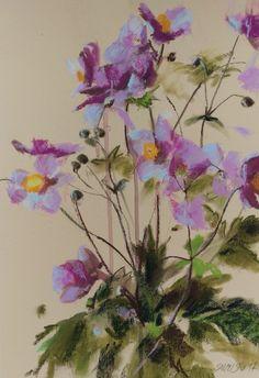 Windflowers PASTEL by Silja Salmistu