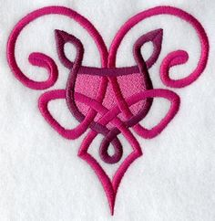 Heart Knotwork design (A9741) from www.Emblibrary.com