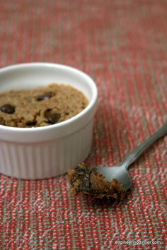 5 Minute Chocolate Chip Cookie
