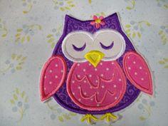 Iron On Applique - Owl