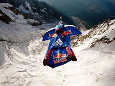 Wingsuit  #redbull