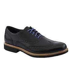 Cole Haan Mens Great Jones Wingtip Oxfords #Dillards