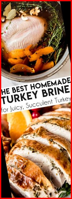 A great Turkey Brine Recipe is the difference between a good Thanksgiving turkey and a great one that people will be talking about for years to come. Knowing how to brine a turkey will make a huge difference in your bird whether you plan to roast it, smoke it, or deep-fry it! This quick and easy technique will ensure a deliciously juicy, moist turkey every time! #turkey #brine #wetbrine #turkeybrine #recipe #howto #best #easy #Thanksgiving #juicy thanksgiving dinner for two Turkey Brin Thanksgiving Dinner For Two, Dinner For 2, Thanksgiving Turkey, Thanksgiving Recipes, Dinner Ideas, Dinner Table, Moist Turkey, Brine Recipe, Turkey Brine