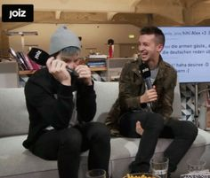 His laugh can cure all diseases. <<<< Which one are we talking about? Because... They both can.