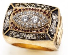 Super Bowl XXII, Washington Redskins Championship Ring.