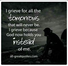 I grieve