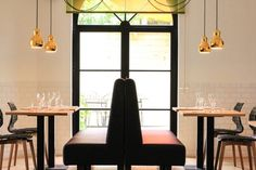 Chaises bar design Uni Bois - Sledge