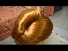 Bridal, Wedding, Prom Updo. Hair Tutorial. Long Length Hairstyles. - YouTube