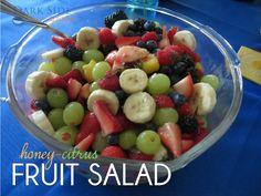 Honey-Citrus Fruit Salad