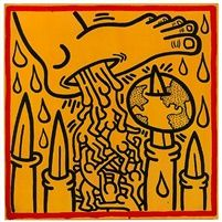 View Untitled by Keith Haring on artnet. Browse more artworks Keith Haring from Tony Shafrazi Gallery. Matisse, Principles Of Art Unity, Acid Trip Art, James Rosenquist, Keith Haring Art, Pattern Coloring Pages, Claes Oldenburg, Architecture Tattoo, Jasper Johns