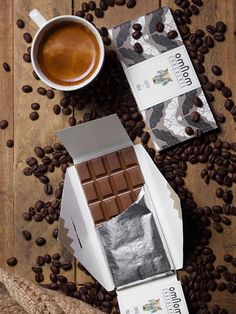 Coffee & Milk Chocolate by Omnom