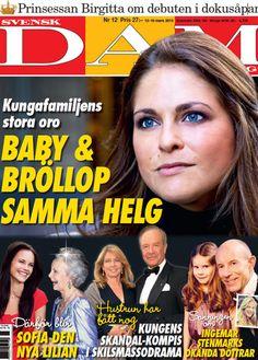 Princess Madeleine, baby and wedding the same weekend
