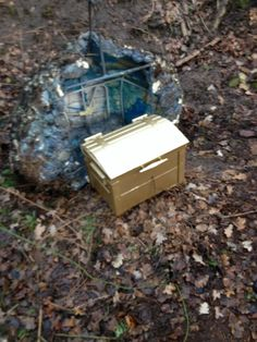 Giant cache container.