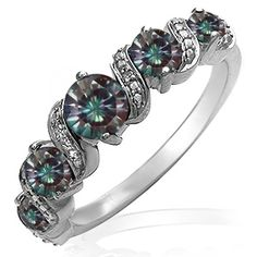 Kay Lab Created Alexandrite Ring White Gold Jewelry