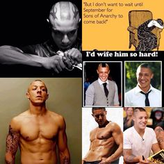 Theo rossi!!! (; sons of anarchy juice!