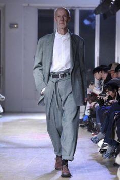 Yohji Yamamoto Menswear Fall Winter 2011 Paris - NOWFASHION