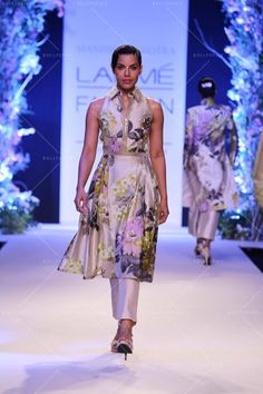 indian floral outfits - MANISH MALHOTRA COLLECTION