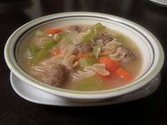 Yeast Free Recipe - Candida Diet Meatball Soup