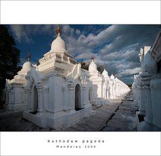 Kuthodaw pagoda #Myanmar #Burma #ThreelandTravel