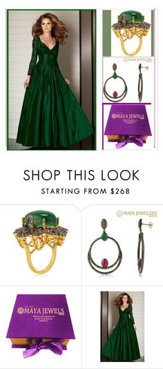 """MAYAJEWELERYJAIPUR"" by amira-1-1 ❤ liked on Polyvore featuring Clarisse"