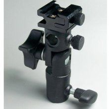 This is the Adapter you do need to attach an umbrella to a stand...and attach the Speedlite (or other shoe mount flash)