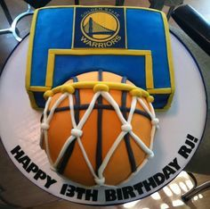 Basket ball cake golden state birthday parties 59 new ideas Basketball Birthday Parties, 10th Birthday Parties, Birthday Fun, Basketball Cakes, Birthday Ideas, Birthday Basket, Kid Parties, Cake Birthday, Stephen Curry Cake