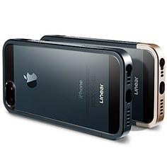 Spigen SGP Linear #Metal Crystal Case for #iPhone 5 - Metal Slate $27.99 From #DayDeal