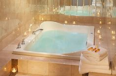 One of our Jacuzzi Suites in the Governor's Club. Madison, Wisconsin Hotel.