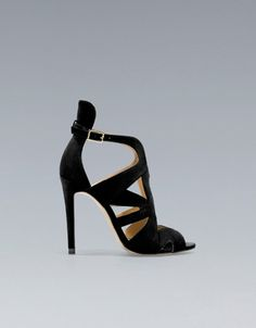 STRAPPY HIGH-HEEL SANDALS - Shoes - Woman - New collection - ZARA