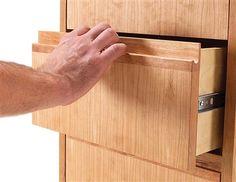 AW extra 7/12/12 - Router-Made gaveta e porta puxa - Carpintaria Revista Popular